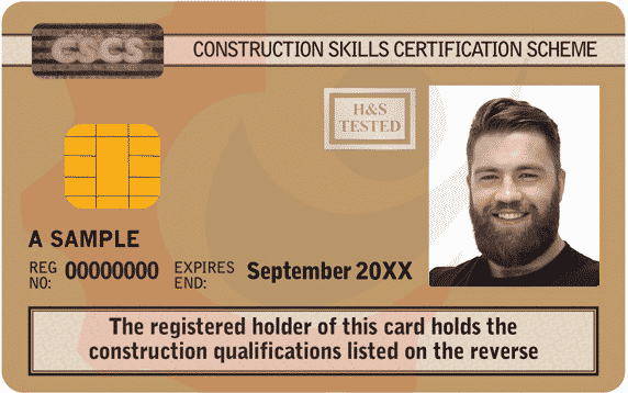 CSCS Gold Card Occupational Work Supervision